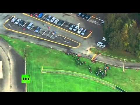PRIMERAS IMÁGENES: La escuela de Marysville tras el tiroteo