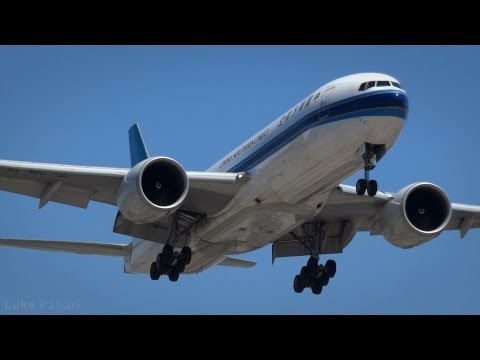 China Southern Cargo B777-F1B (B-2071) Arrival at LAX