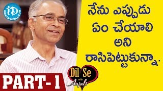 Retd DGP Dr.Karnam Aravinda Rao IPS Exclusive Interview - Part #1 || Dil Se With Anjali - IDREAMMOVIES