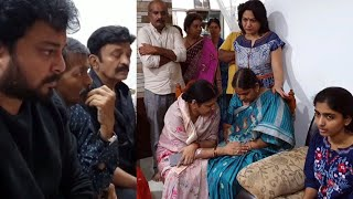 MAA Members Meets Disha Family   Movie Artists Association   Telugu News - TFPC