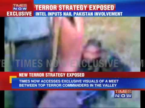 Terror strategy exposed - TIMES NOW Exclusive Visuals