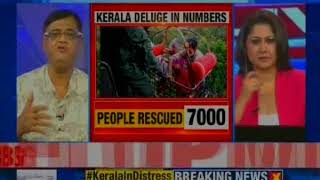 Kerala Floods Fury: Forces work round the clock for relief, men in uniform brave the odds - NEWSXLIVE