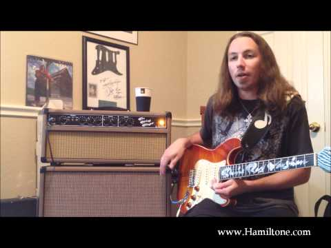 "Hamiltone Custom ""SRV"" Guitar and Six String Slinger Amp review/demo"