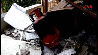 Gas Cylinder Blast in Shankar Nagar | Hyderabad | 2 Injured | CVR News - CVRNEWSOFFICIAL