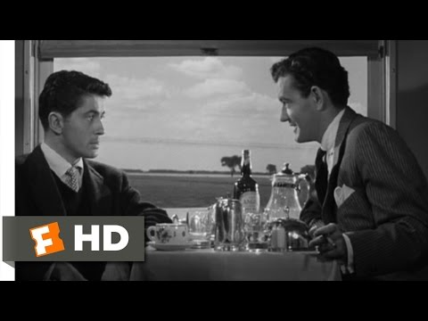 A Perfect Murder - Strangers on a Train (2/10) Movie CLIP (1951) HD