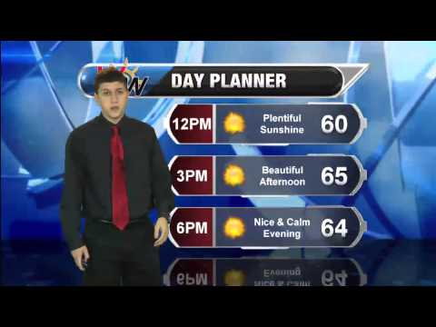 Monday April 21, 2014 Morning Forecast