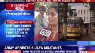 Four year old abused at Bangalore school - NEWSXLIVE
