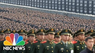China Marks 80th Anniversary Of Nanjing Massacre With Somber Memorial, Healing Words | NBC News - NBCNEWS