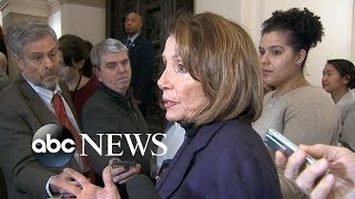 Pelosi: Trump endangered lives by revealing plan to visit troops - ABCNEWS