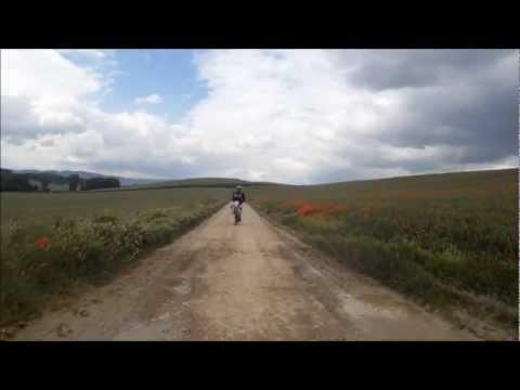 Camino frances Santiago Bici 2011 4/13 HD