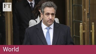 Former Trump lawyer Michael Cohen sentenced to 3 years - FINANCIALTIMESVIDEOS
