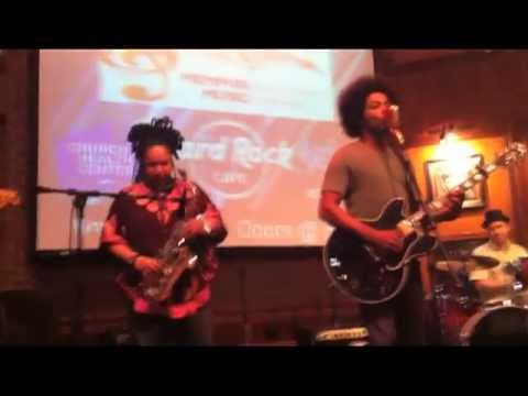 Hope Clayburn and Alex Cuba live at The Hard Rock Cafe Memphis TN 2013