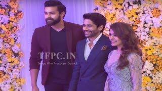 Hero Varun Tej @ ChaySam Wedding Reception | TFPC - TFPC