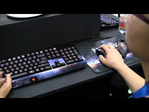 GamesCom 2011: Razer's Battlefield 3 PC Gaming Accessories