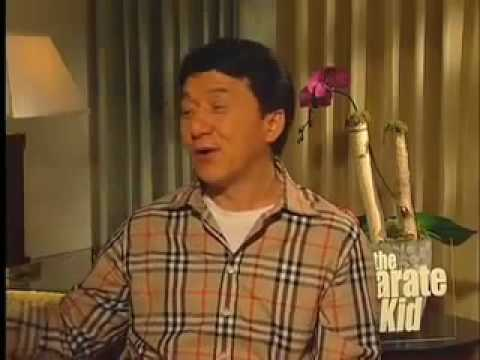 Jackie Chan & Jaden Smith Karate Kid Interview