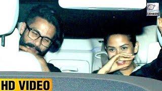 Shahid Kapoor & Mira Rajput Meets Karan Johar | LehrenTV