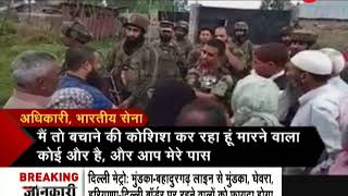 Indian Army explains to people of kashmir how stone-pelters are destroying peace in valley - ZEENEWS
