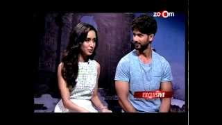 Shahid Kapur and Shraddha Kapoor talk about the INTELLIGENT FILM Haider! | Bollywood News