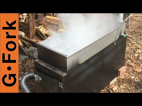 File Cabinet Evaporator Upgrade! - Make Maple Syrup - GardenFork