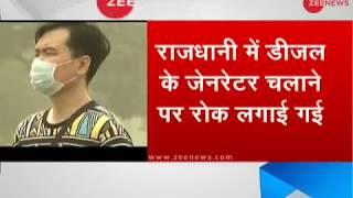 Diesel Generators Banned in Delhi after air quality enters red zone - ZEENEWS