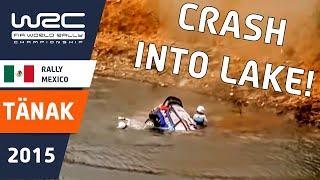 بالفيديو.. سيارة «فورد» تغطس في بحيرة ثم تعود للسباق مرة أخرى