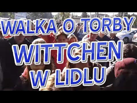 Walka o torby Wittchena w Lidlu
