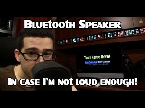 What Gadget Should I Buy: Bluetooth Speaker