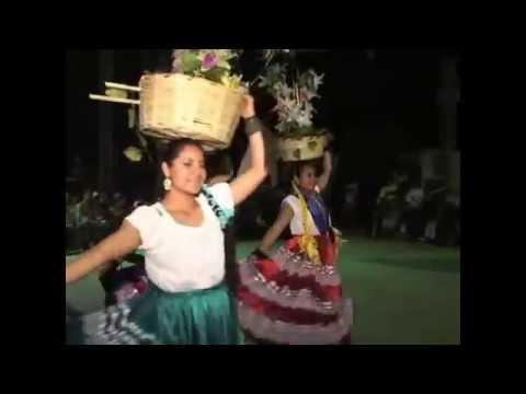 ACAQUIZAPAN 14 DE AGOSTO 2011 BALLET FOLKLORICO '' BAILES TIPICOS DE OAXACA ''