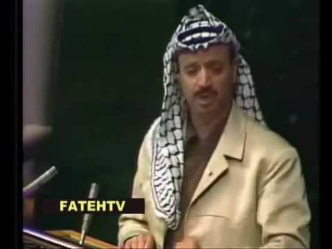 Yasser Arafat Speech at the UN (United Nations)in 1974