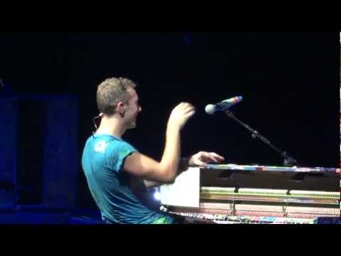 Coldplay Paradise Live Montreal 2012 HD 1080P