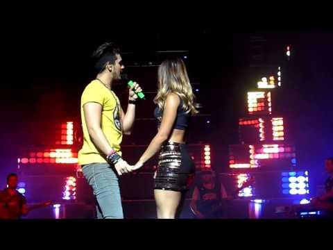 Luan Santana dançando o Lepo Lepo - Citibank Hall - 21/02/14