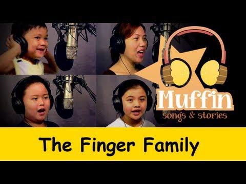 Muffin Songs – The Finger Family (Daddy Finger) Tekerlemeler ve İngilizce Çocuk Şarkıları