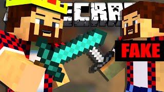 ФЕЙКОВЫЕ ВРАГИ - Minecraft Bed Wars (Mini-Game)