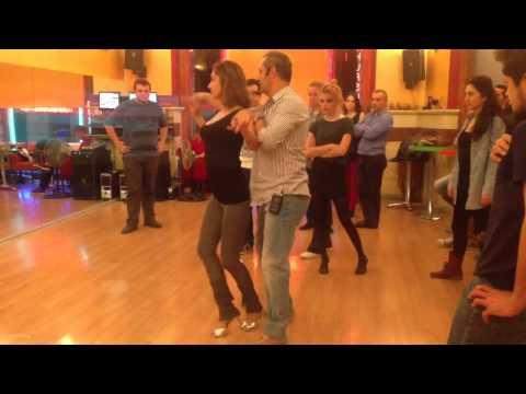 Salsa kursu baslangic kareografi