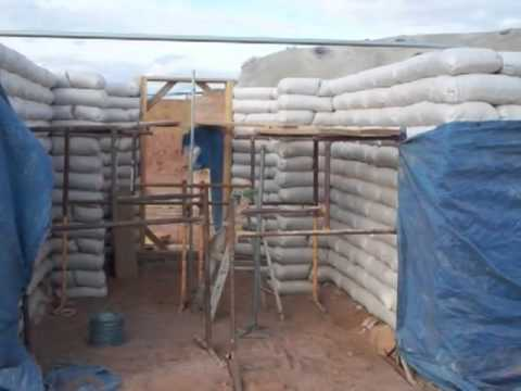 Earthbag House 6