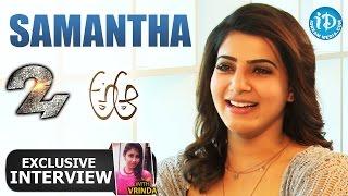 Samantha Exclusive Interview || Talking Movies With iDream #165 || #Brahmotsavam - IDREAMMOVIES