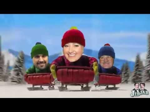 JulieG.TV Life | Jerry Miculek vs. Doug Koenig vs. Julie Golob Sled Race