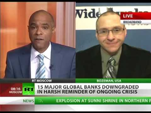 "'Bank downgrade ""shocker"" aims to plant fear & panic'"
