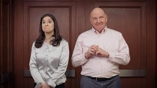 In the Elevator With Steve Ballmer - WSJDIGITALNETWORK