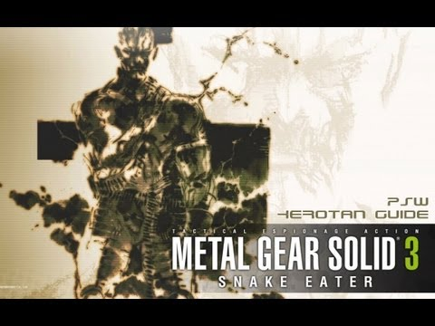 Metal Gear Solid 3 - It Ain't Easy Being Green Trophy/Achievement