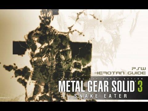 Metal Gear Solid 3 - It Ain't Easy Being Green Trophy/Achievement