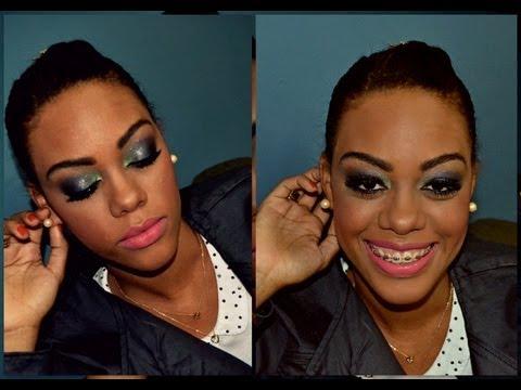 Maquiagem especial para peles negras e mulatas - Outono/Inverno