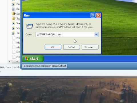 Share files between Windows 7 and your virtual Windows PC