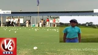 'Tisha' a 11years old girl creating wonders in Golf Sports - Hyderabad - V6NEWSTELUGU