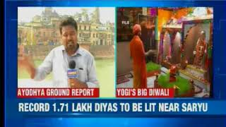 Uttar Pradesh: Chief Minister Yogi Adityanath's big diwali bash in Ayodhya - NEWSXLIVE