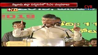 CM Chandrababu Naidu Speech in Nellore Janmabhoomi Programme | CVR News - CVRNEWSOFFICIAL