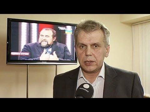 Video: Direttore tv ucraina aggredito e dimissionario perchè trasmette discorso di Putin
