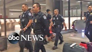 LAX Active Shooter False Alarm Causes Chaos - ABCNEWS