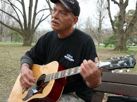 Homeless man sings about the death of his wife and unborn daughter
