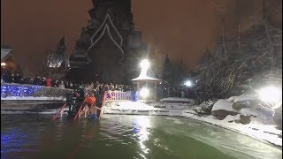 Washing away sins: Ice-cold Epiphany dip (360 VIDEO) - RUSSIATODAY